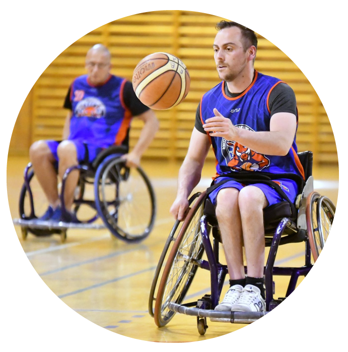 Wheelchar Luxembourg Basket